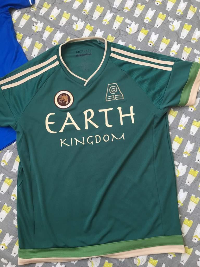 Earth Kingdom Soccer Jersey Avatar Amino