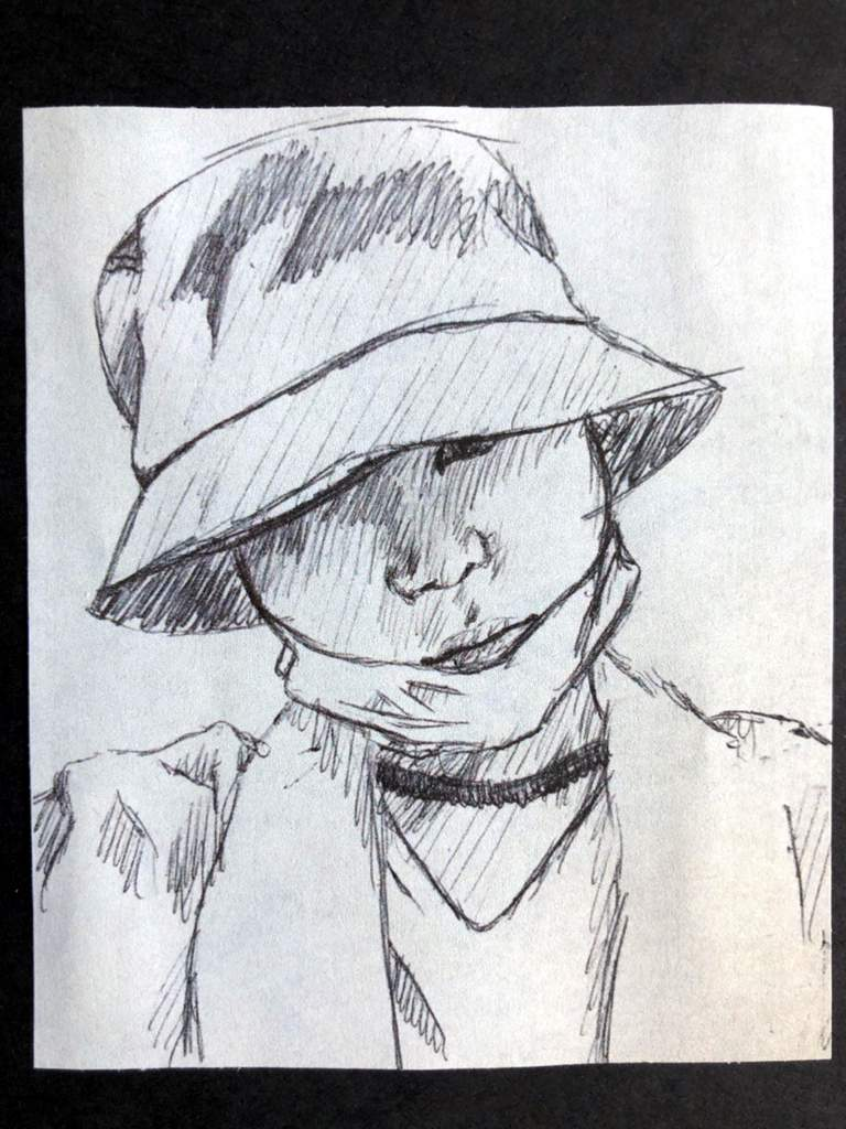 Pen Sketches Hats Face Masks Bts Amino