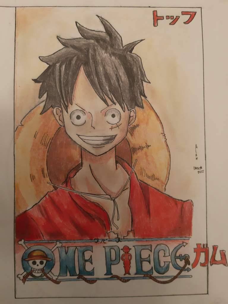 Luffy D Monkey Fan Art One Piece Amino