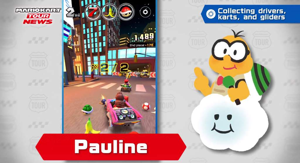 Pauline Is Coming To Mario Kart Tour Mario Amino