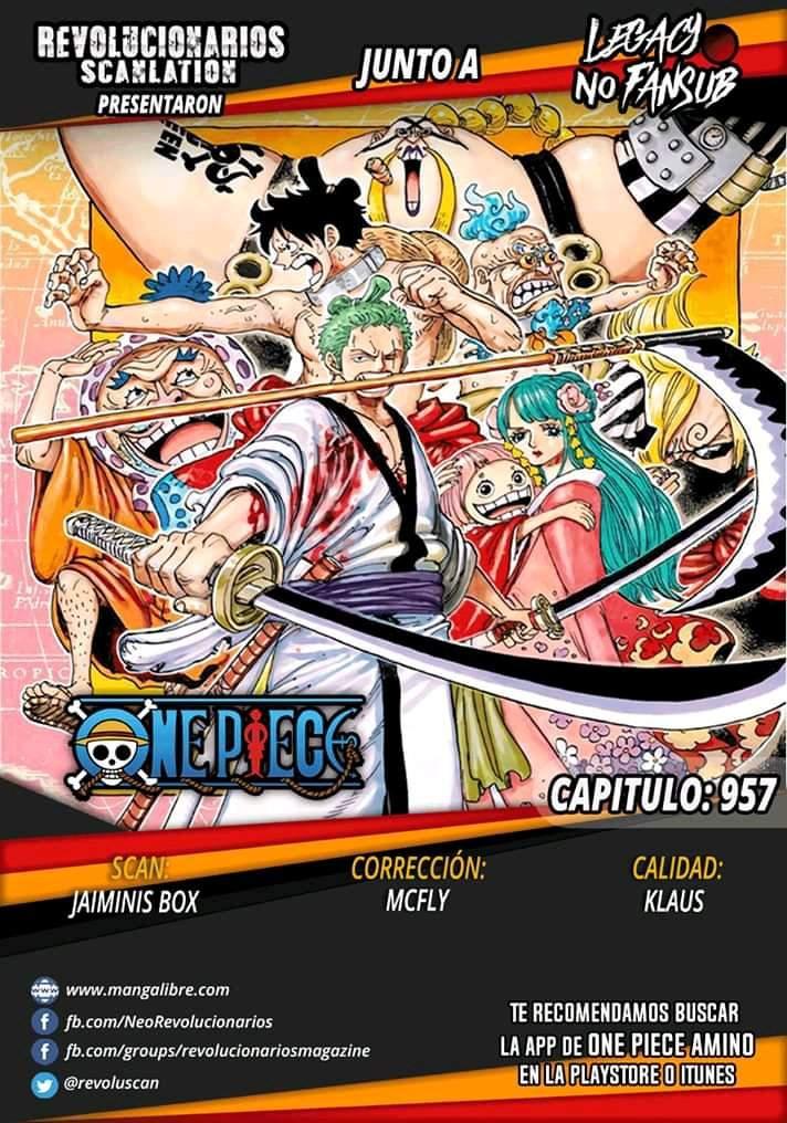 One Piece Manga    957   •One Piece• Amino