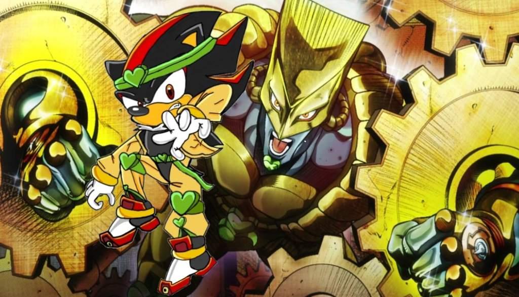 Shadow As Dio From Jojo S Bizarre Adventure Sonic The Hedgehog Amino
