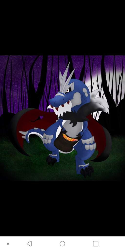 The Dark Realms Shiny Mega Vampiric Tyrantrum Pokemon