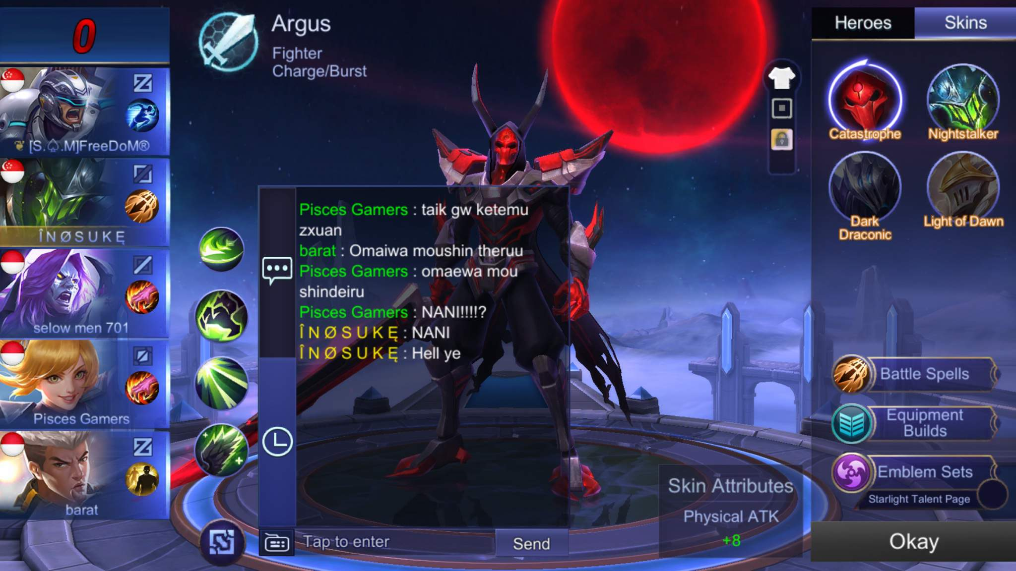 How To Play Argus Properly Mobile Legends Amino Amino
