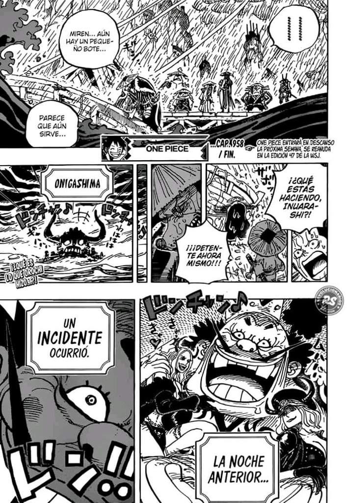 Capítulo 958   Wiki   •One Piece• Amino