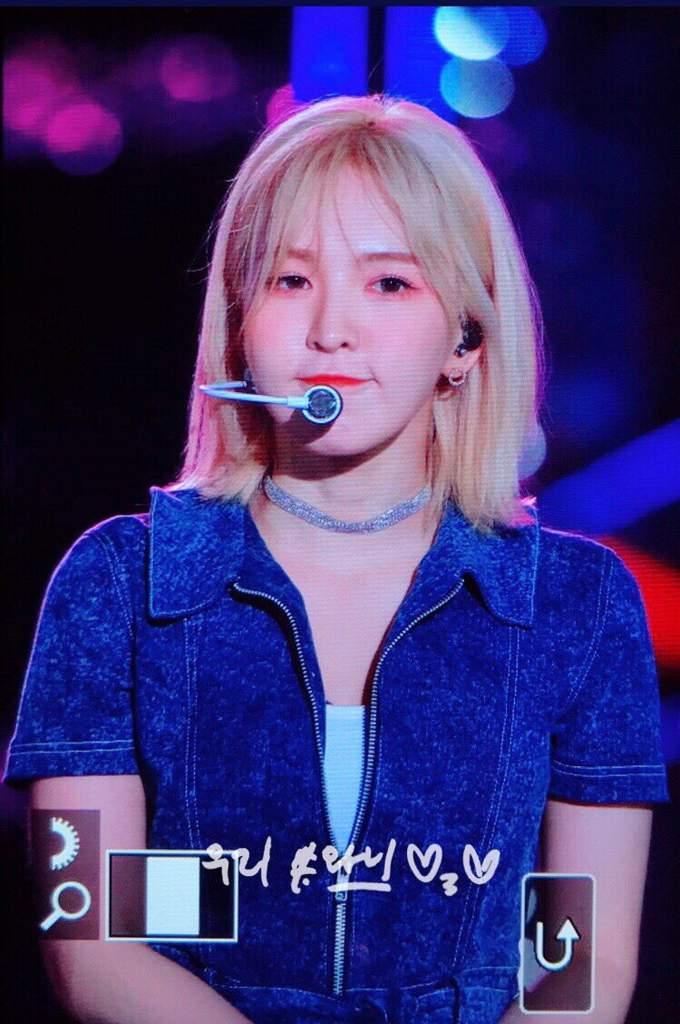 Blonde Wendy Red Velvet Amino