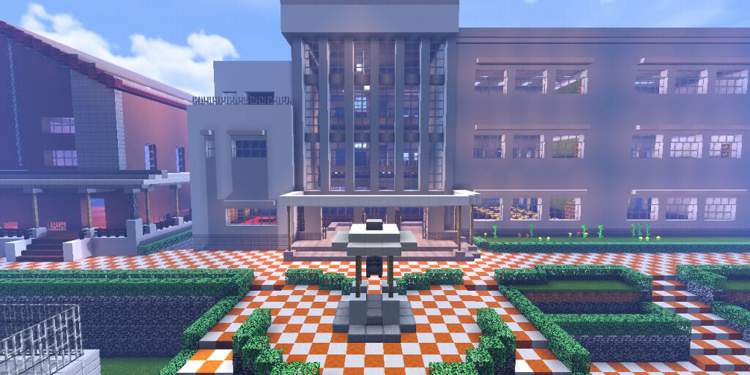 Minecraft High School For Mobs And Players Minecraft Amino