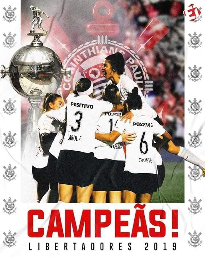 é Campeão O Corinthians Feminino Conquista A Copa