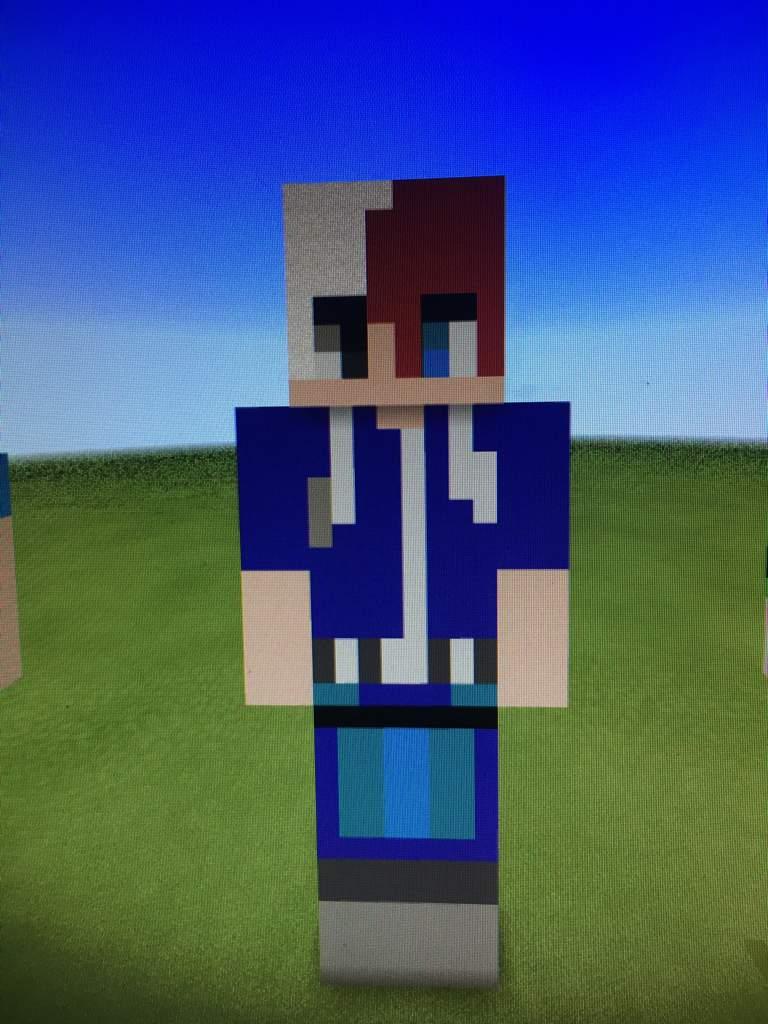 Deku and Todoroki  Minecraft Amino