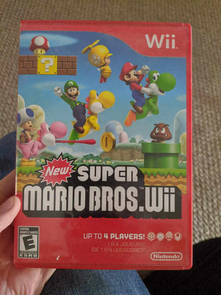 New Super Mario Bros Wii 10th Anniversary Mario Amino