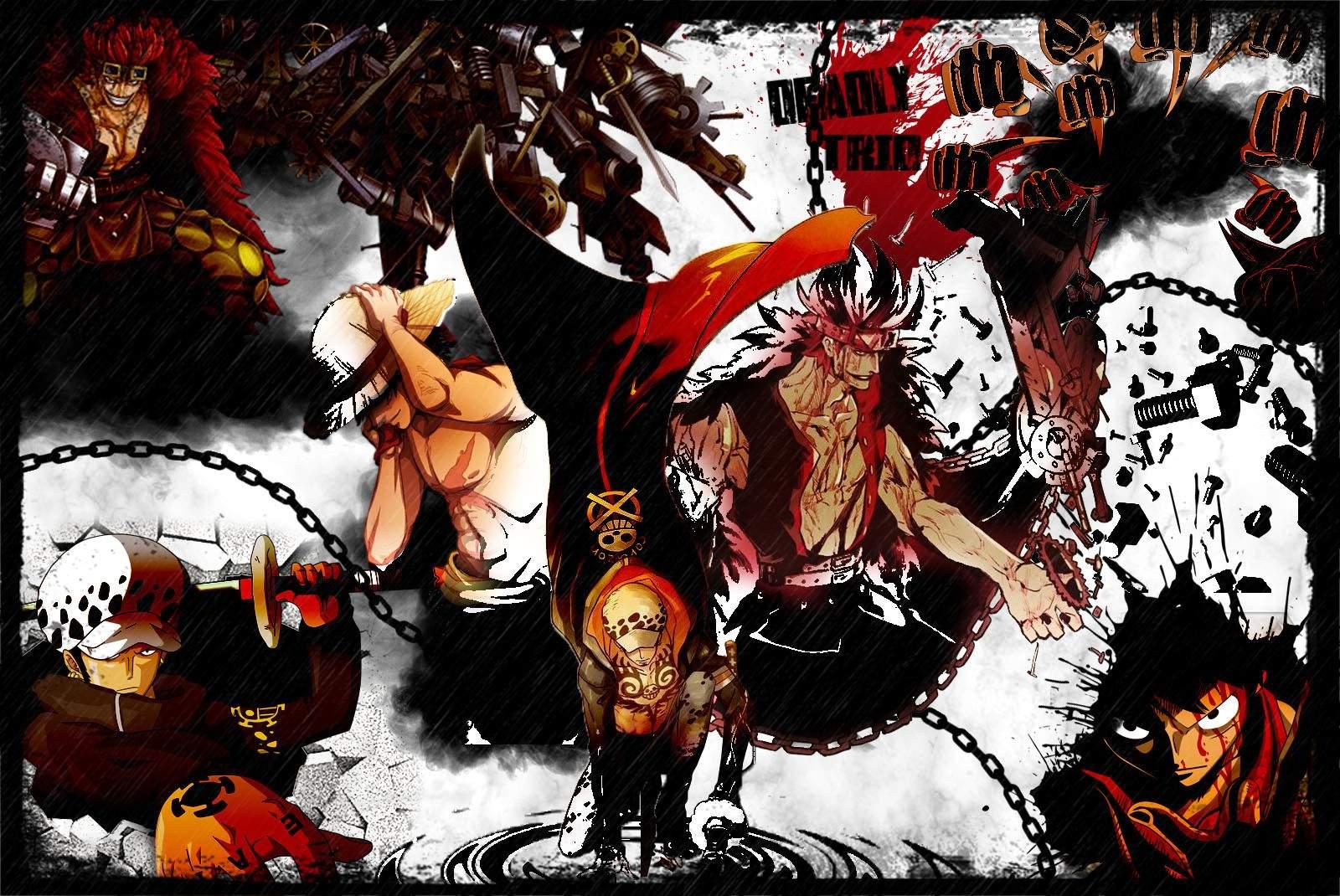 Supernova Trio - EDIT | One Piece Amino
