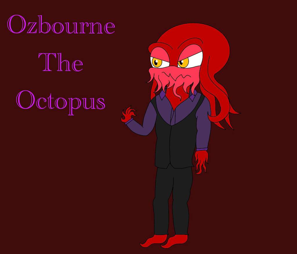 New Oc Ozbourne The Octopus Sonic The Hedgehog Amino