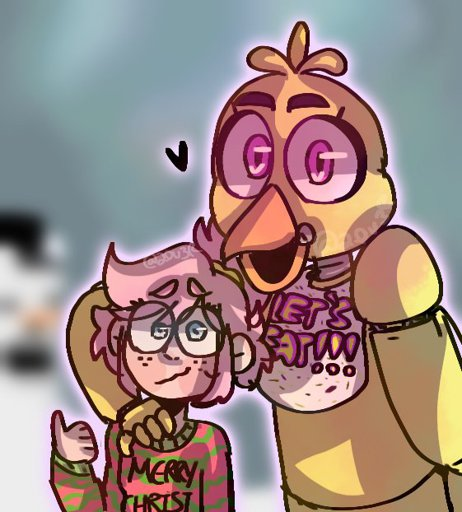 """Springtrap And Mangle From Comics """"In The Dark"""""""