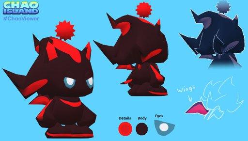 Davie the shadow chao | Wiki | Sonic the Hedgehog! Amino