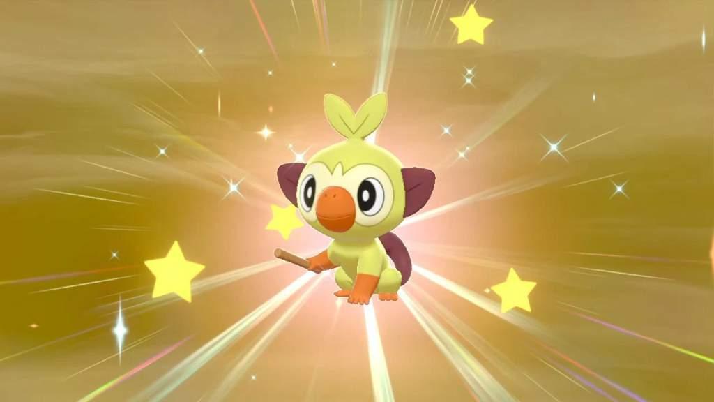Shiny Grookey Pokemon Amino Grookey location in pokemon sword & shield: shiny grookey pokemon amino