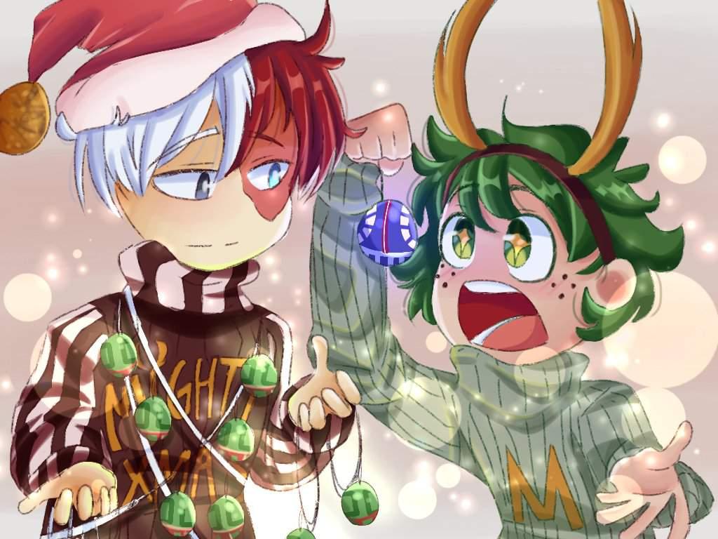 Merry Christmas My Hero Academia Amino