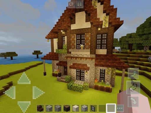 Warm Red House Minecraft Amino