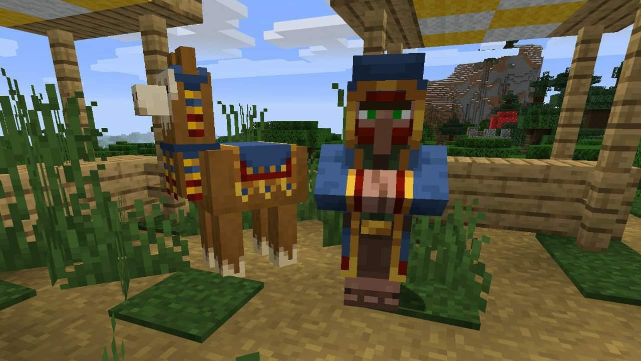 Idée pour améliorer le marchant ambulant  Minecraft Amino