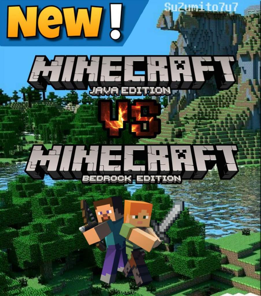 Java Edition VS Bedrock Edition [001] | Minecraft Amino ...