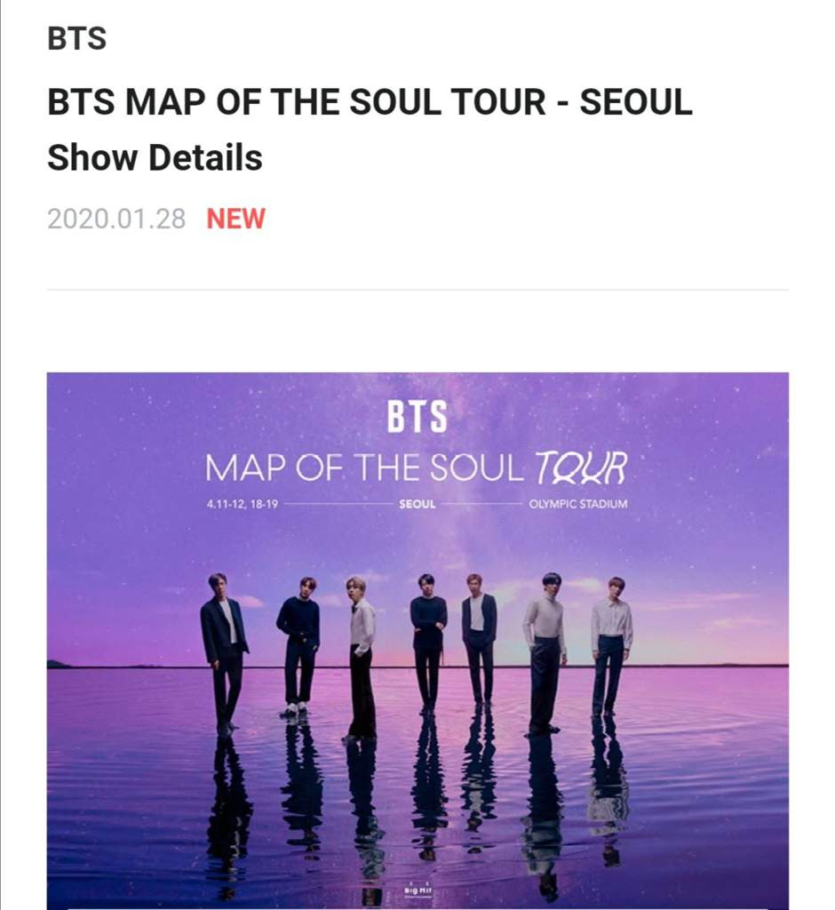 Bts Map Of The Soul Tour Updates Bts Amino
