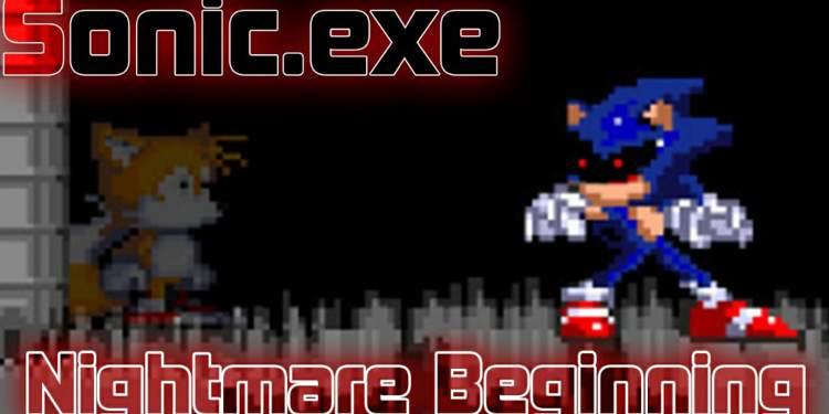 Sonic Exe Nightmare Beginning Sally Exe Continue Sonic Exe Amino