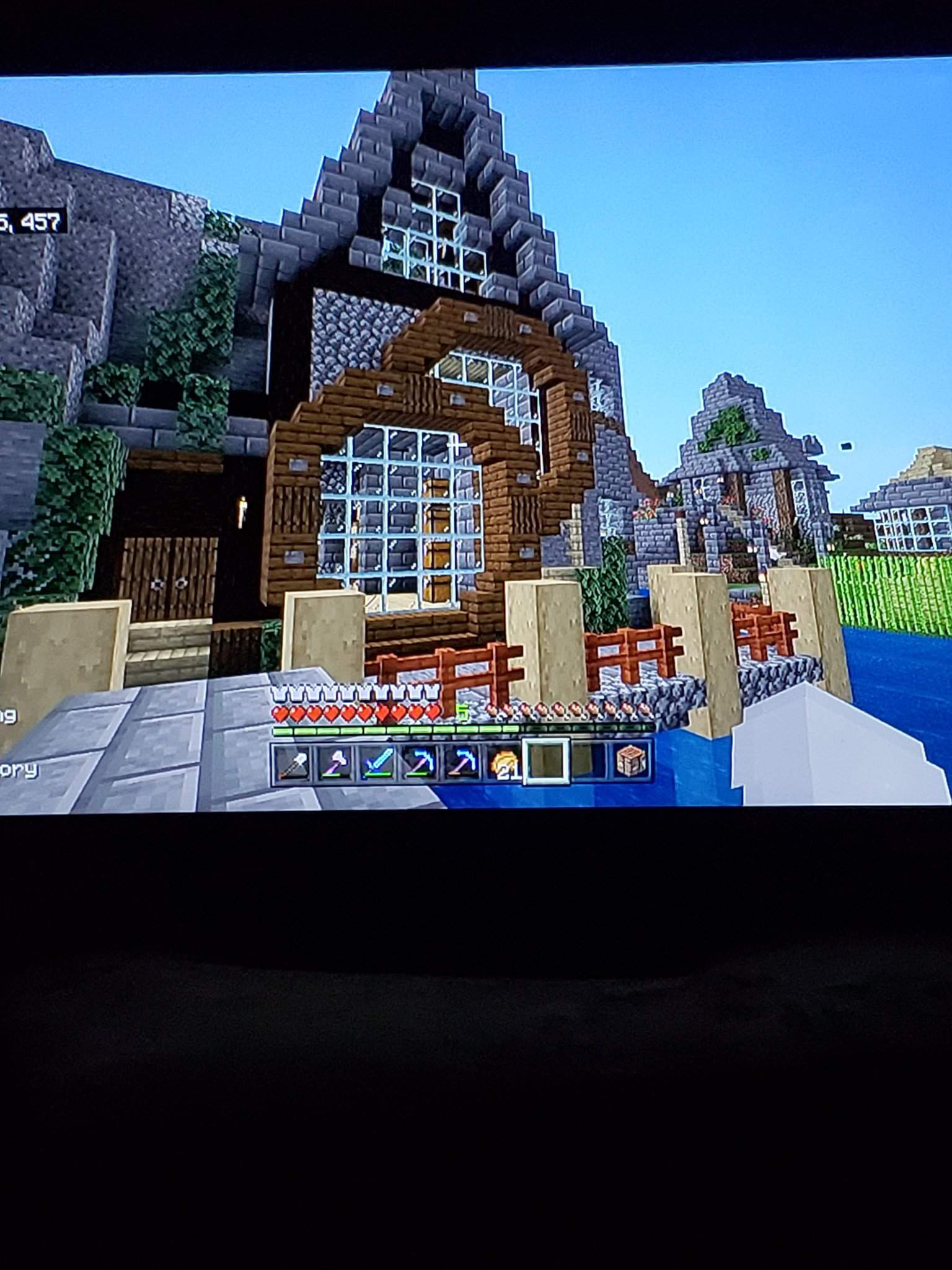 Minecraft : MOUNTAIN HOUSE TUTORIAL|How to Build in