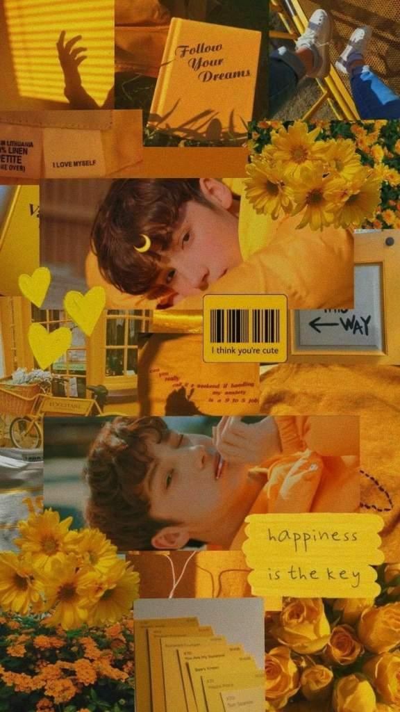 Huening Kai Yellow Aesthetic Wallpaper Txt 투모로우바이투게더 Amino