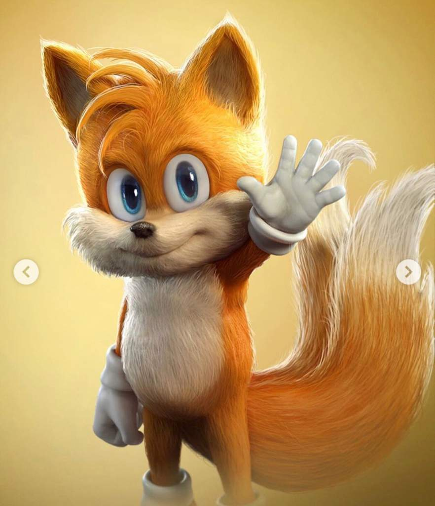 Man Drew Tails Knuckles In Sonic Movie Style Sonic The