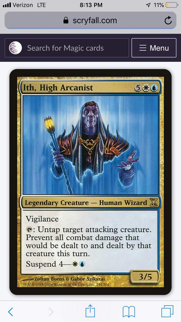 Magic MTG Furnace of Rath ~ Eighth Edition Excellent+