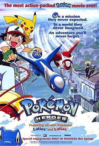 My Pokemon Movie Journey Day Pokemon 4ever Celebi The Voice Of