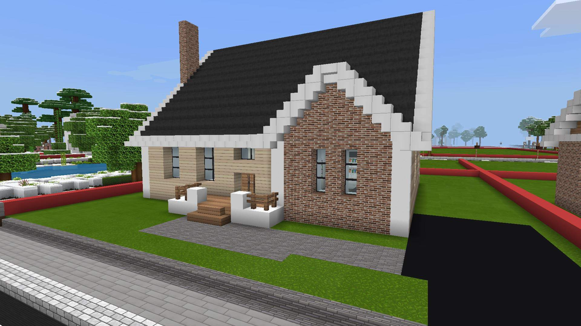 Cute little 12 story traditional house.  Minecraft Amino