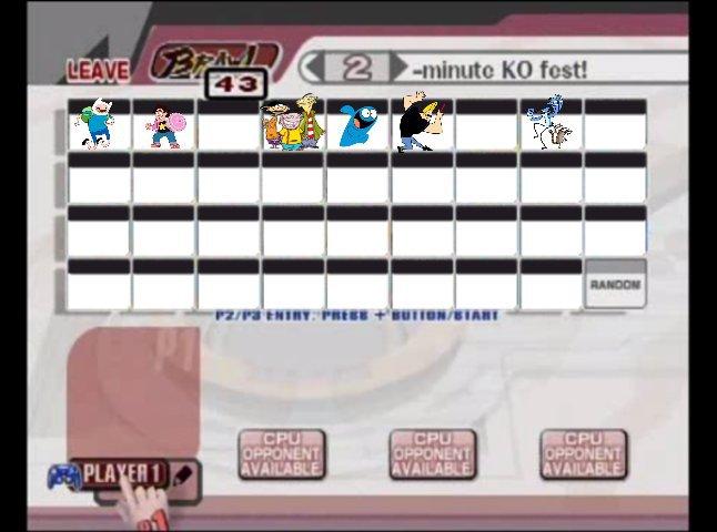 A Cartoon Network Fighting Game Cartoon Amino