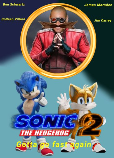 Poster Sonic The Hedgehog Amino