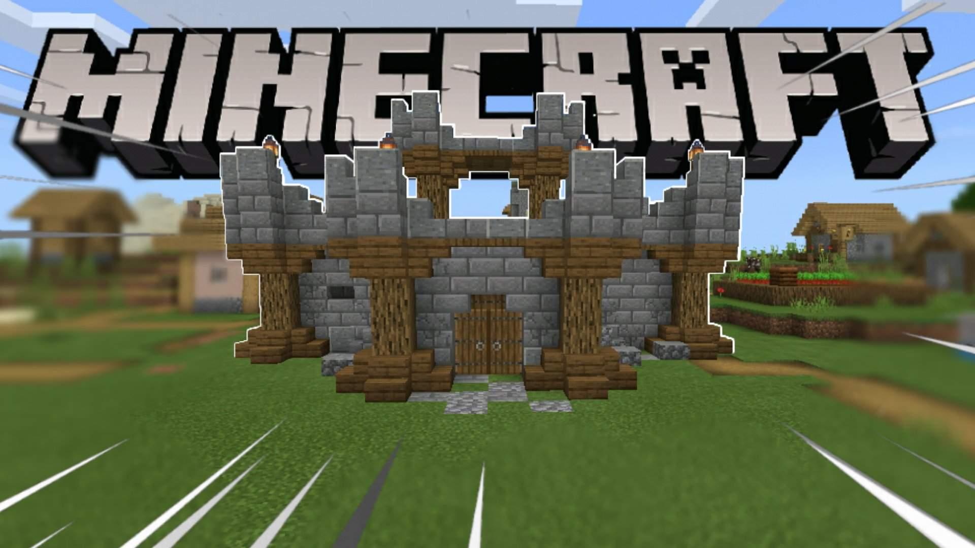 Villager farm decoration !!!  Minecraft Amino
