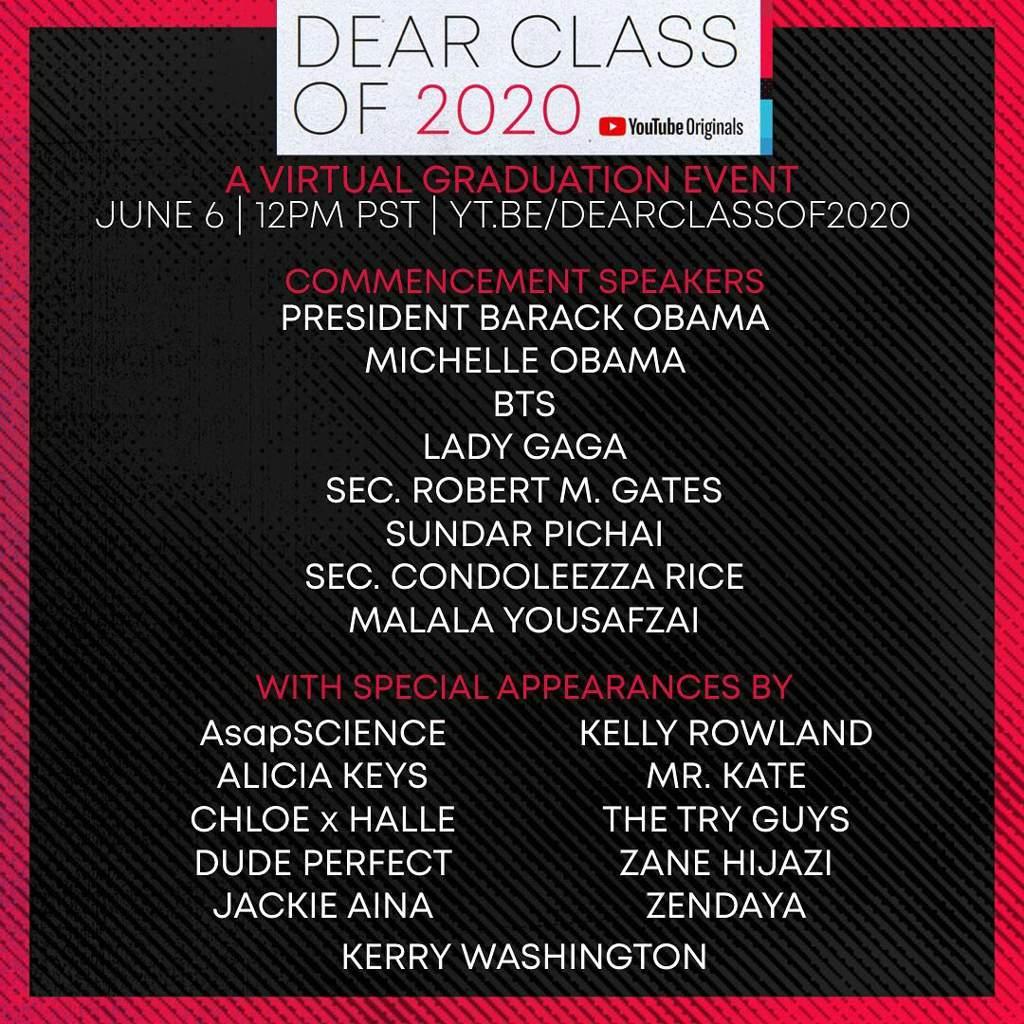 Dear Class Of 2020 | ARMY's Amino