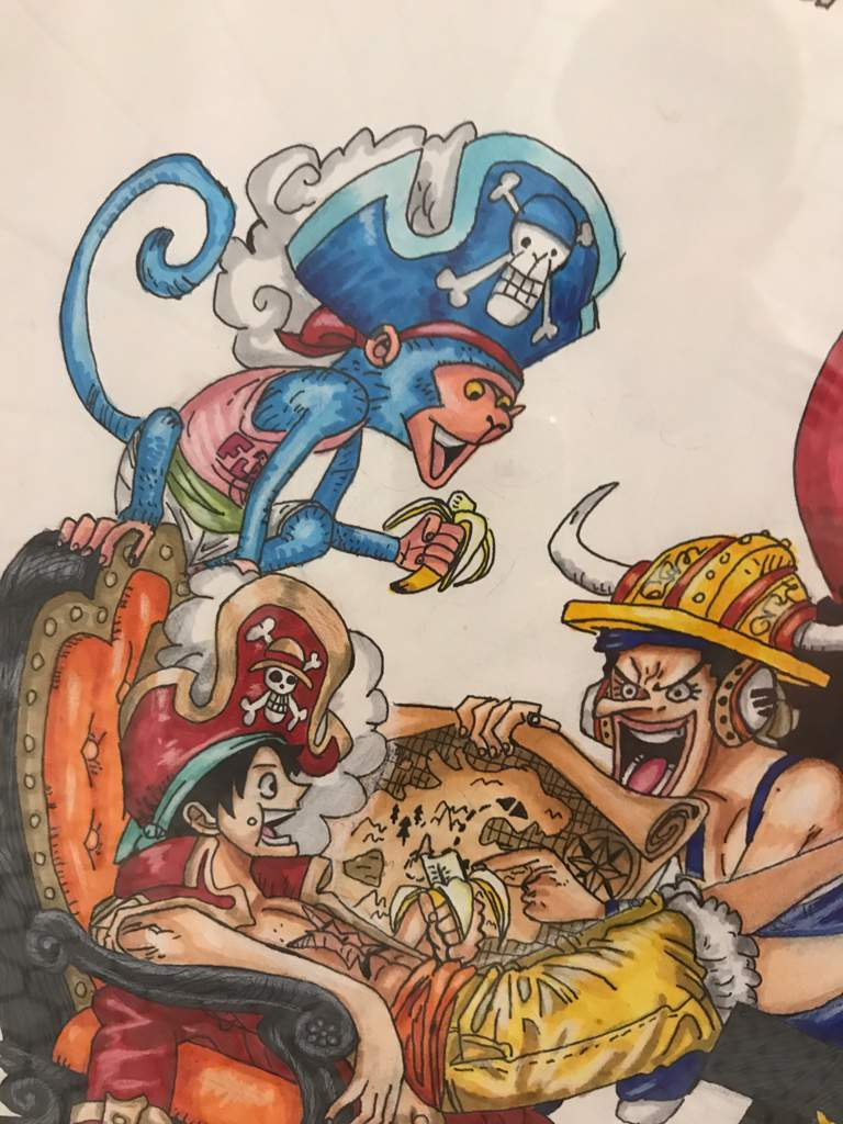 """Planning New Adventures"" | One Piece Chapter 937 Fanart ..."