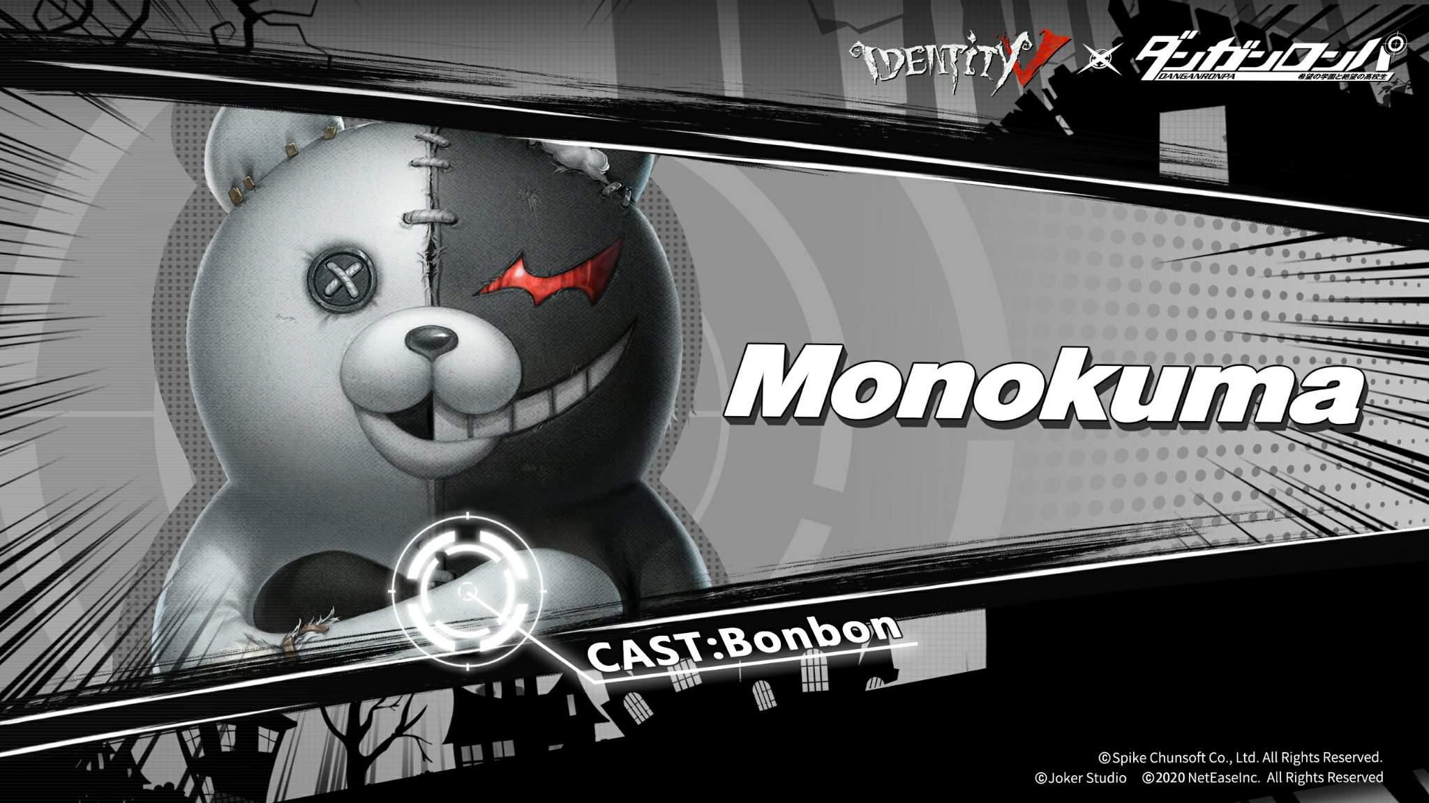Identity V × Danganronpa - Monokuma | Identity V Official Amino
