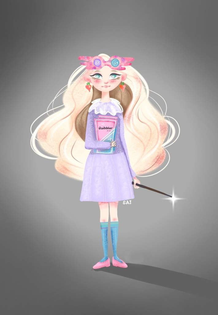 Luna Lovegood Digital Art Harry Potter Amino