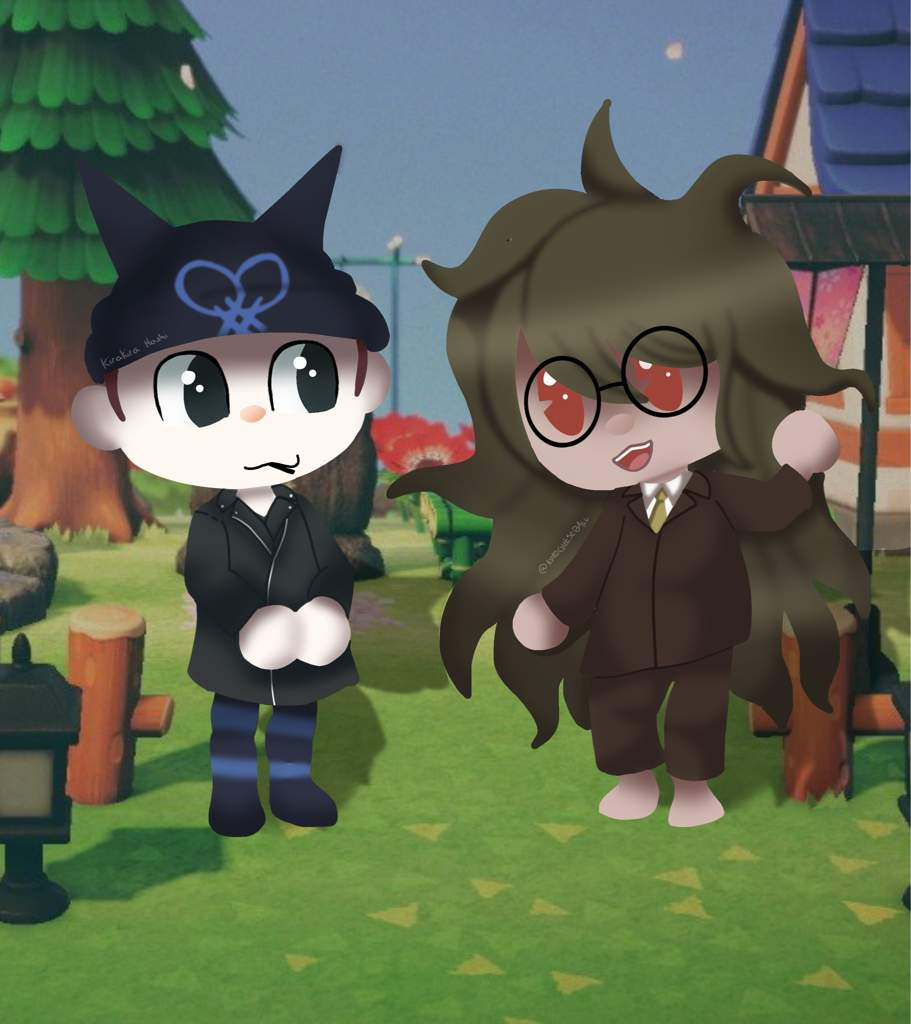 Gonta And Ryoma Animal Crossing Edit Danganronpa Amino Up to two rvs can be present in the campground at any one time. gonta and ryoma animal crossing edit