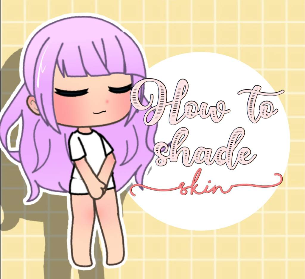 How To Shade Skin Lighter Skin Gacha Life Amino