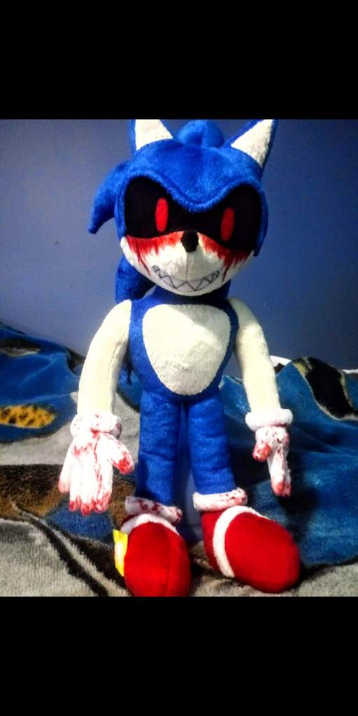 My Own Sonic Exe Plushie 3 Sonic The Hedgehog Amino