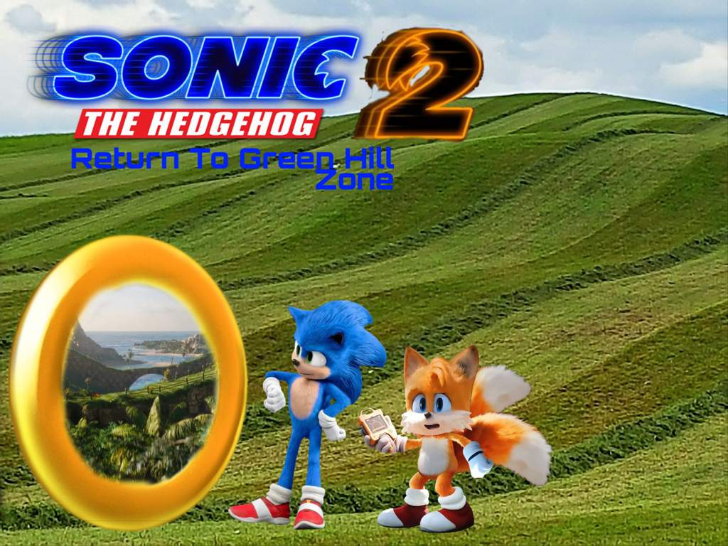 Sonic The Hedgehog 2 Fanmade Movie Poster Wiki Sonic The