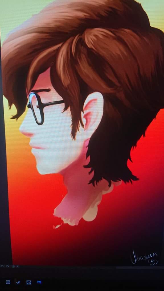 A Painting Of Maruki Smt Persona 5 Amino