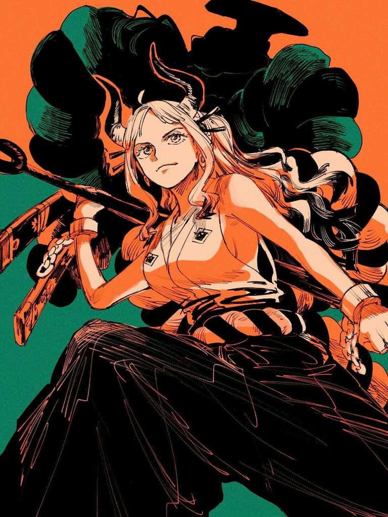 Yamato 😘😘   One Piece Amino