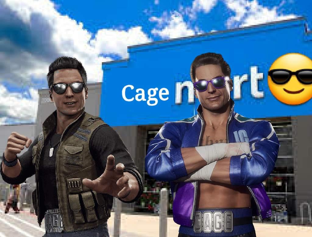 collection image wallpaper: Mortal Kombat Johnny Cage