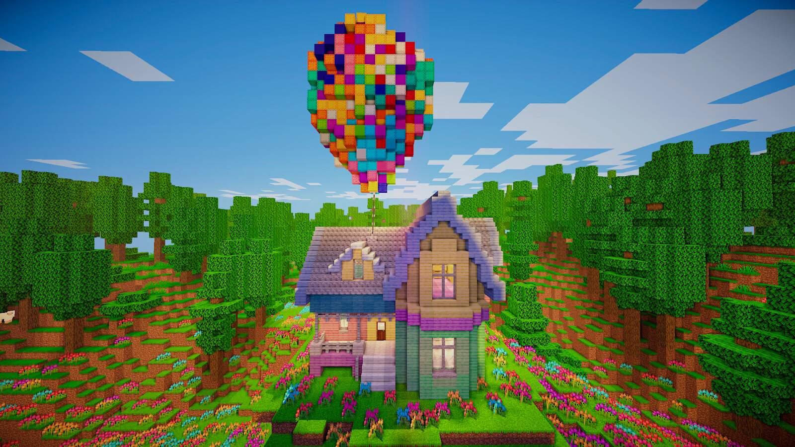 "House From ""UP""  Minecraft Amino"