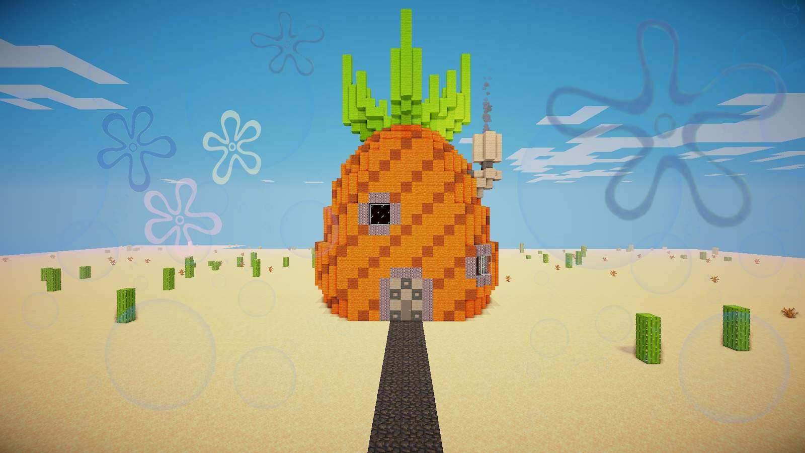 Spongebob Pineapple House  Minecraft Amino