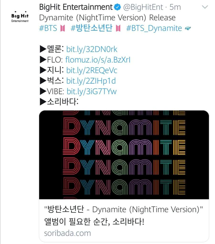 4 NEW REMIXES OF DYNAMITE RELEASED TODAY   BTS Amino