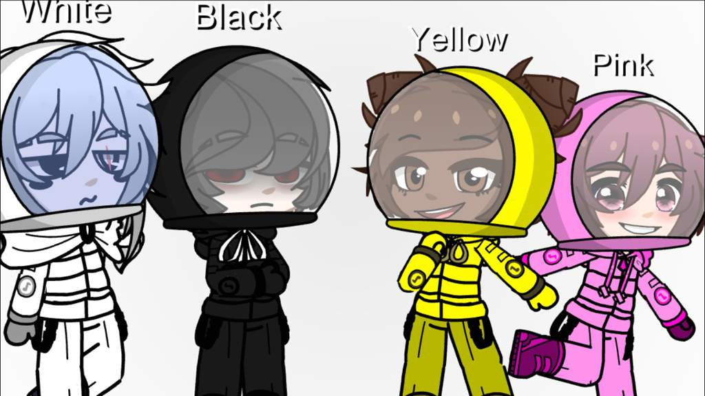 Among Us Characters Updated Gacha Life Amino