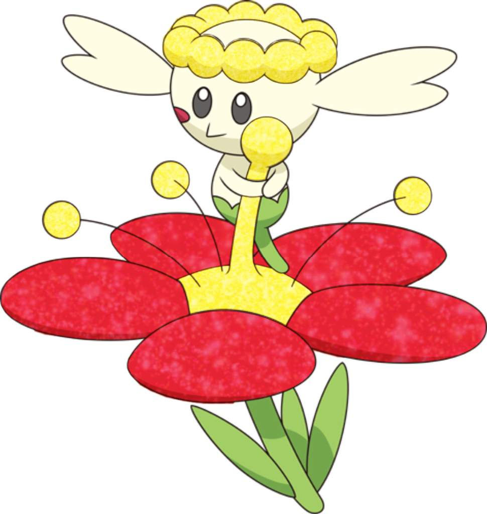 flabebe pokemon shiny - 756×800